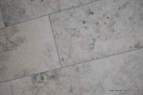 Jura Grey Honed Limestone Floor Tile | Bathroom | Pinterest ...