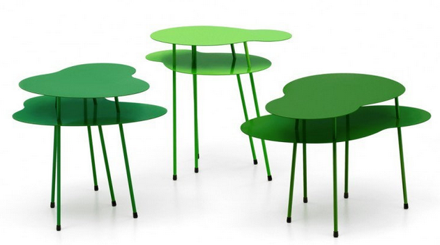 table nénuphar