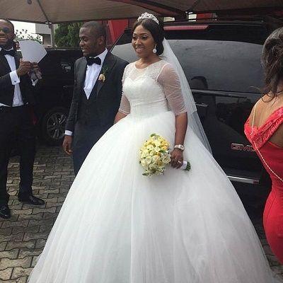Photos from Lilian Esoro and Ubi Franklin's wedding | Latest wedding gowns, Wedding  dresses, Nigerian bridesmaid dresses