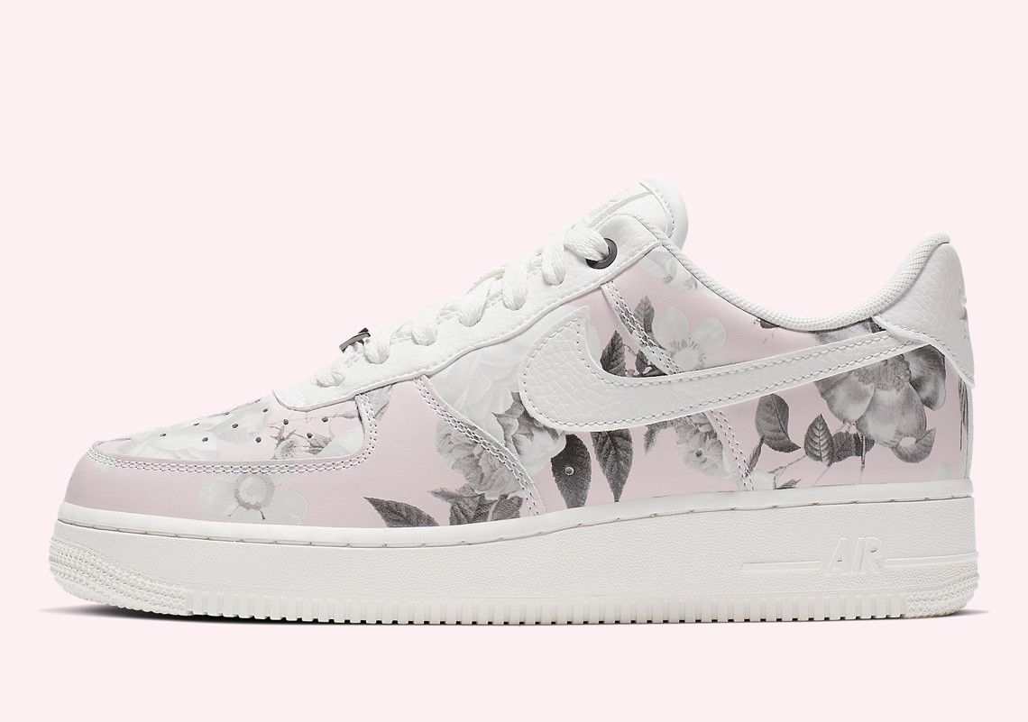 Nike Air Force 1 Low Floral Rose is Coming Soon | Schuhe