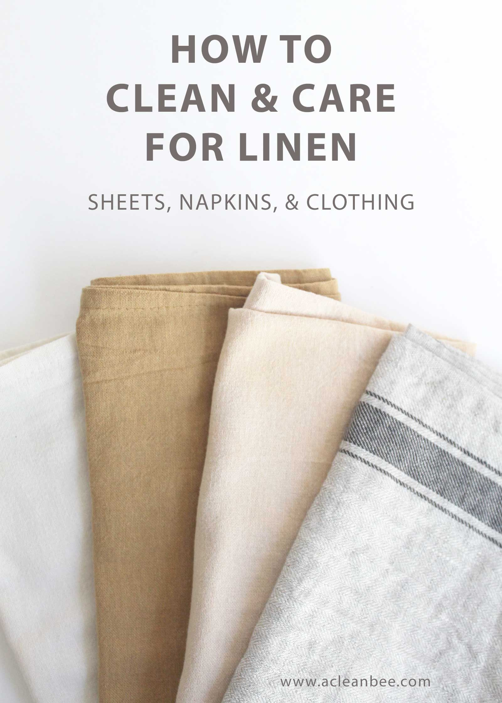 How To Wash Linen Sheets Napkins And Table Settings Linen