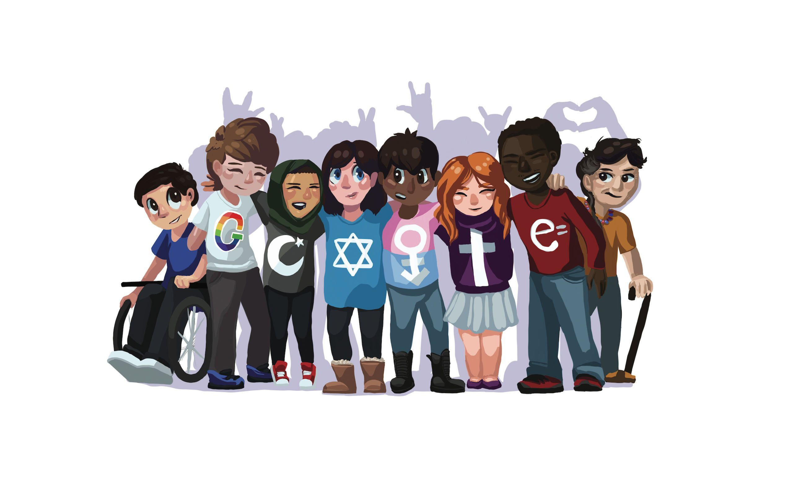 This 15YearOld's Google Doodle Pictures a Peaceful