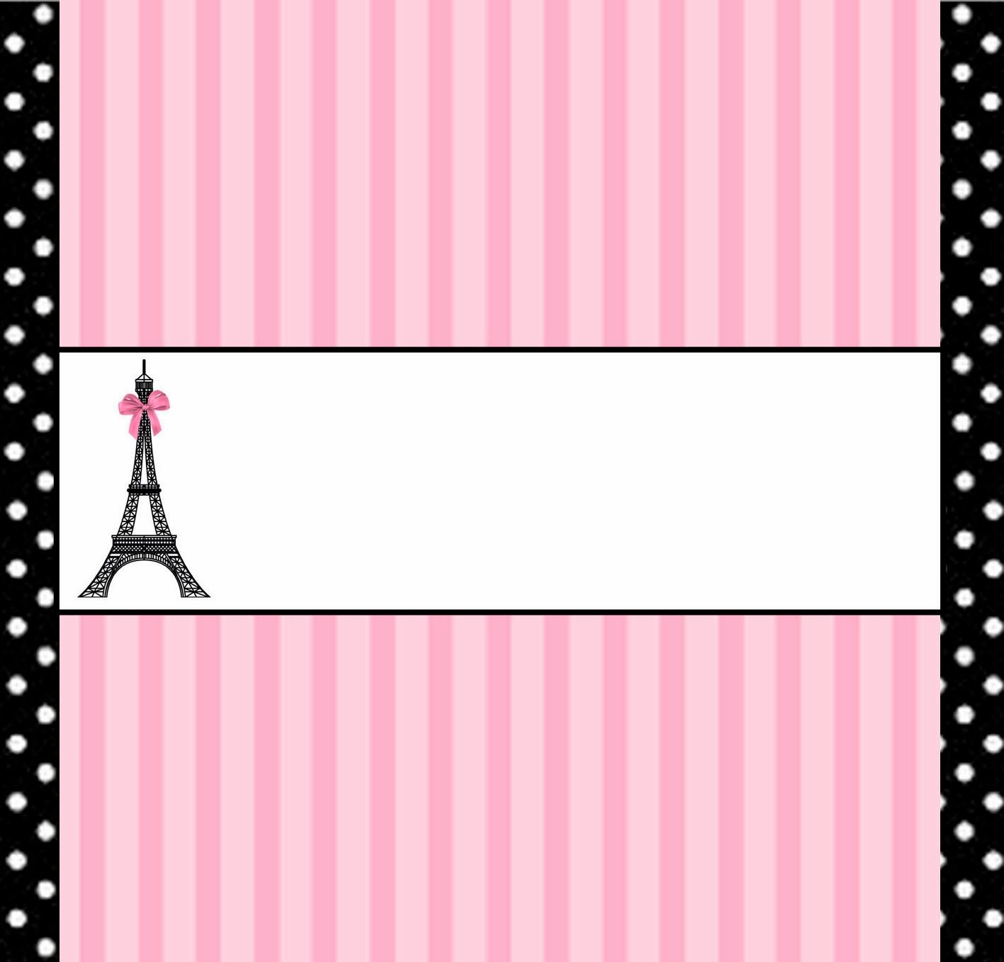 Paris: Free Printable Candy Bar Labels. | Tea time in Paris ...