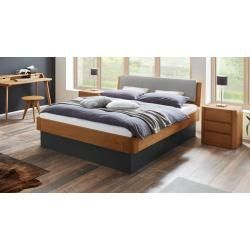 Reduced double beds -  Hasena storage bed Otavalo, 180×200 cm, cognac oak HasenaHasena  - #beds #double #reduced