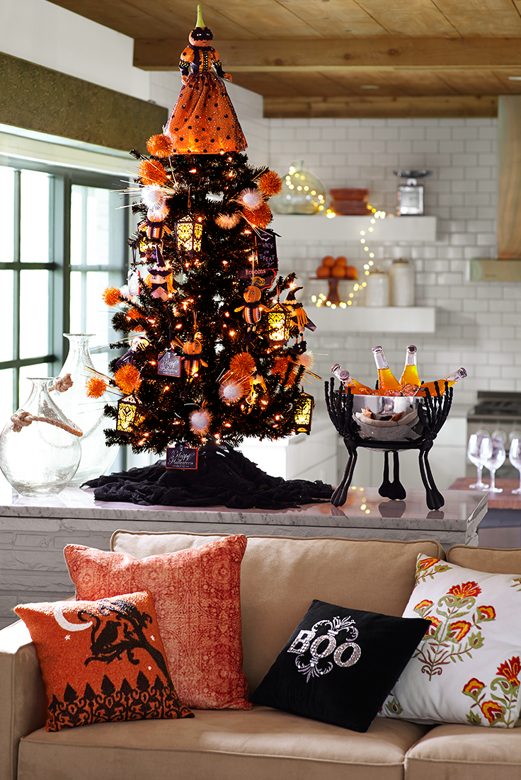 If you're really into Halloween, you should consult Pier 1 ...