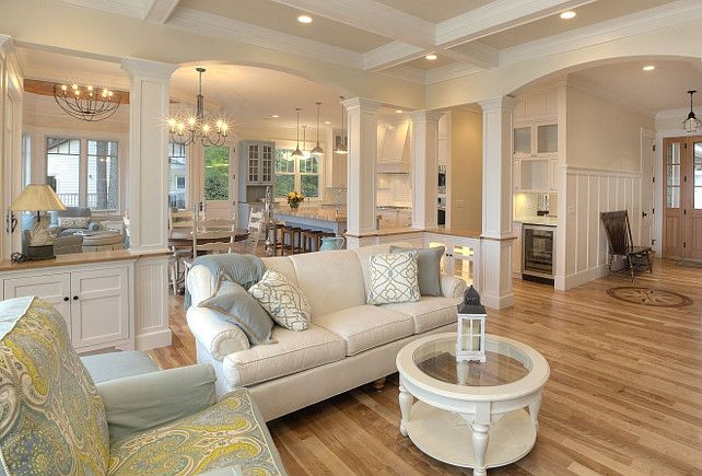 15 Close To Perfect Traditional Open Living Room Ideas House