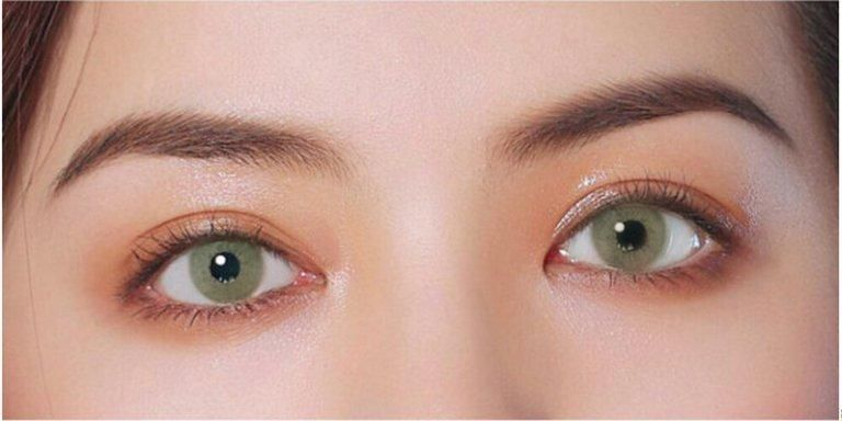 Olivine Green Green Contacts Lenses Olivine Green