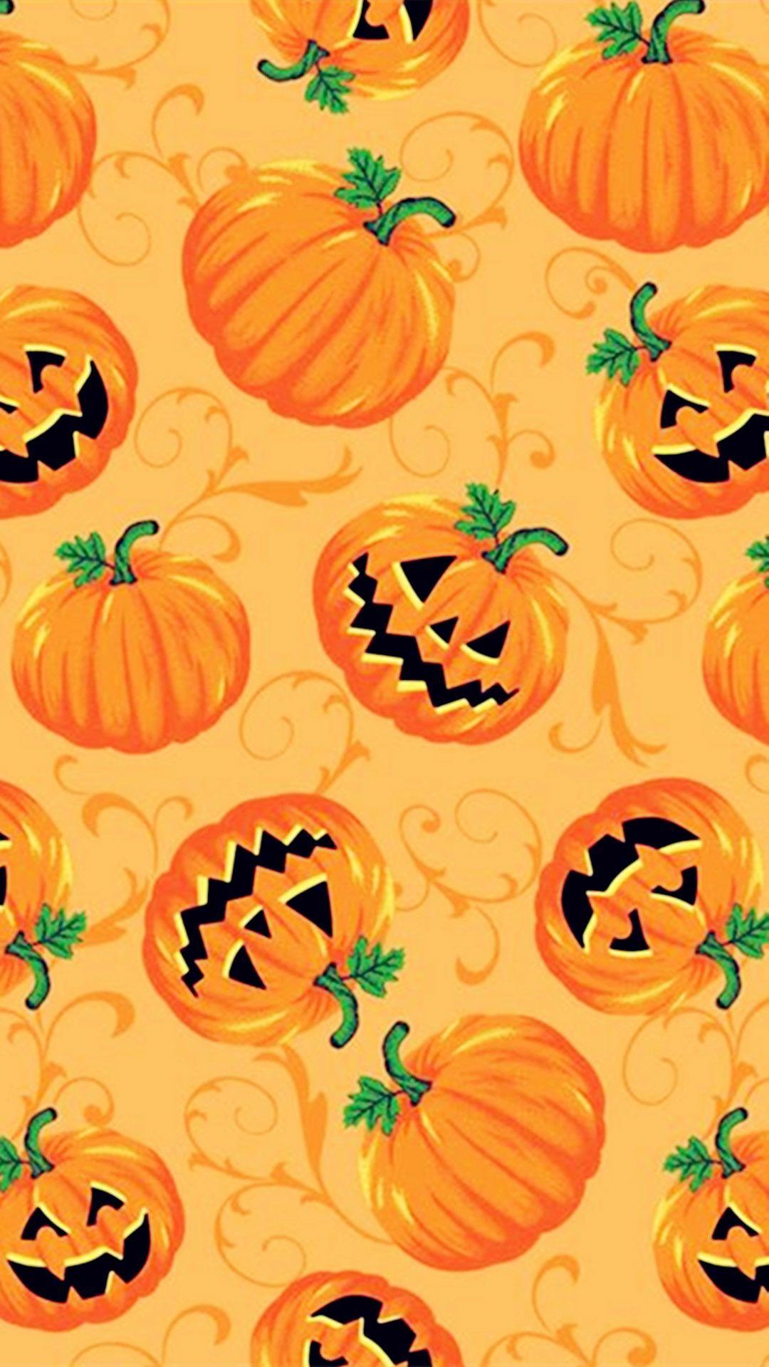 Pumpkins Halloween wallpaper iphone, Halloween wallpaper