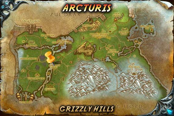 Arcturis Map Wow Battle Pets Unborn