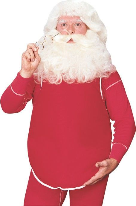 Santa Clause Belly Stuffer Father Christmas Costume Fancy Dress