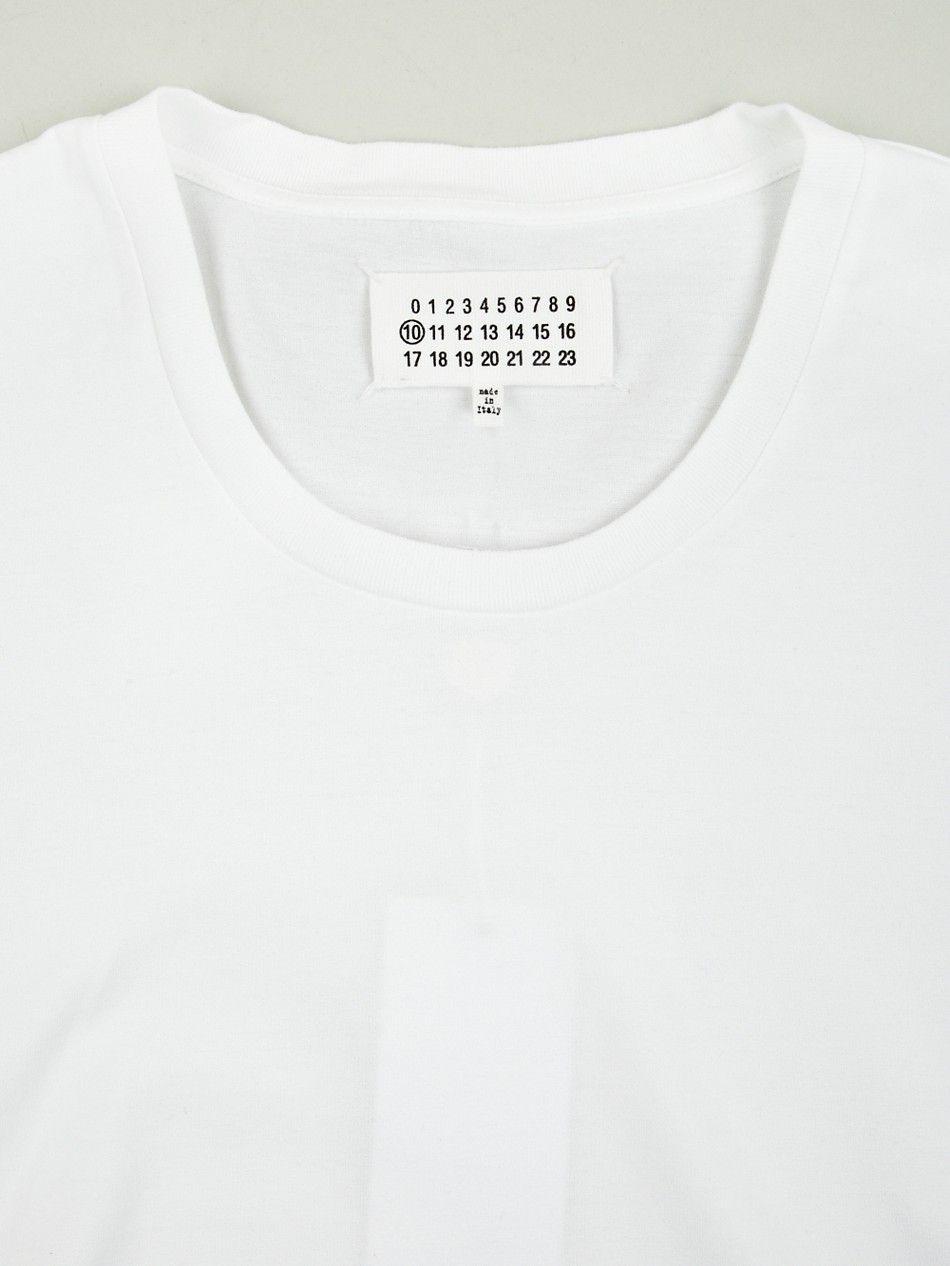 Maison Martin Margiela 10 Men's Crew Neck T-shirt  http://www.oki-ni.com/tops/maison-martin-margiela-basic-crew-neck-tshirt-mmm1872wht.html?temp=images