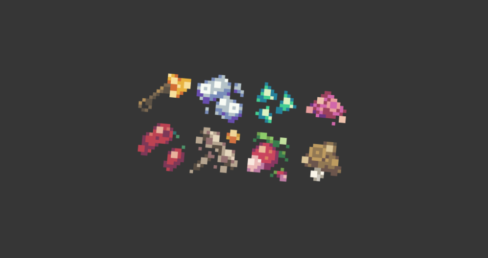 16x16 Rpg Icon Pack By Runninblood Rpg Pixel Art Icon Pack