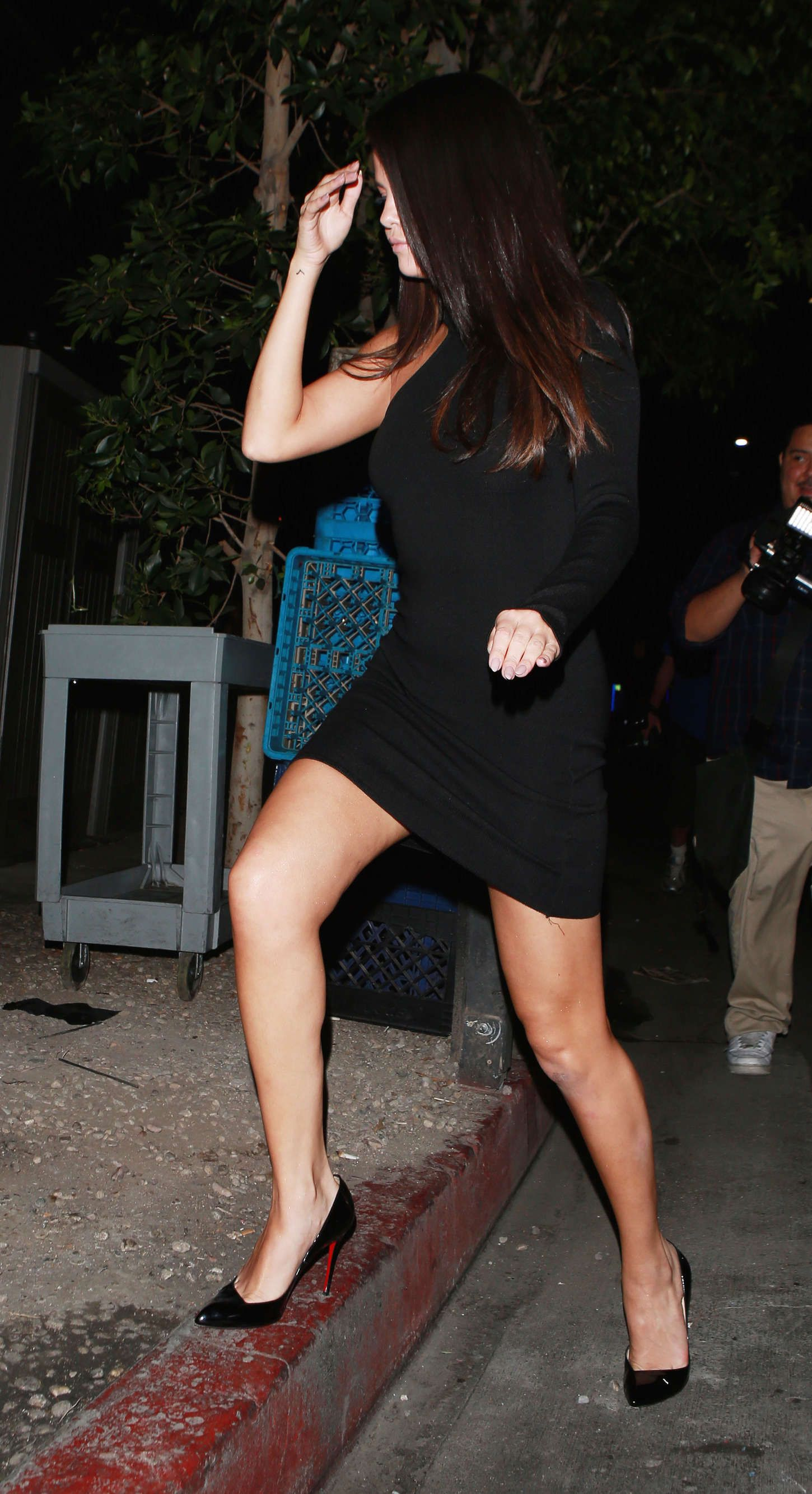 International Celebrities: Selena Gomez at The Nice Guy in Beverly Hills