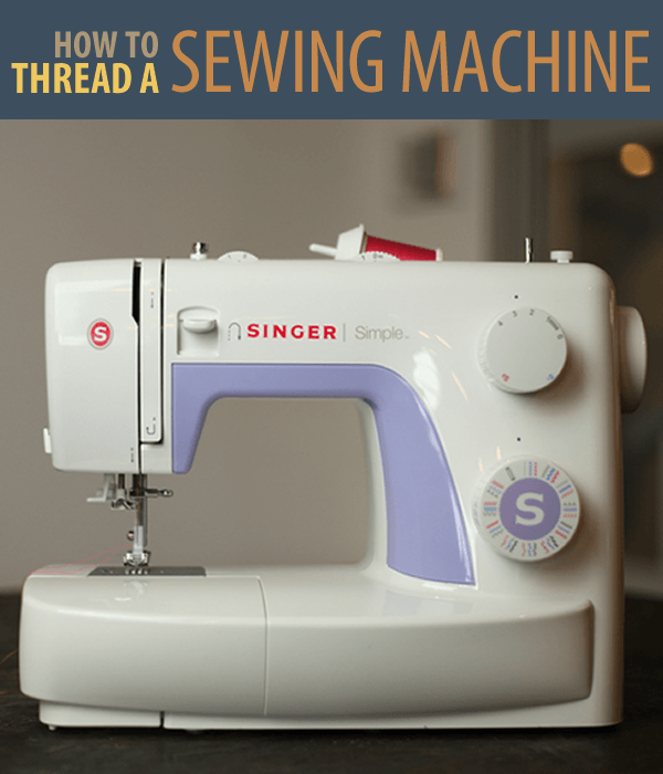 How to Thread a Sewing Machine | Simple sewing machine ...