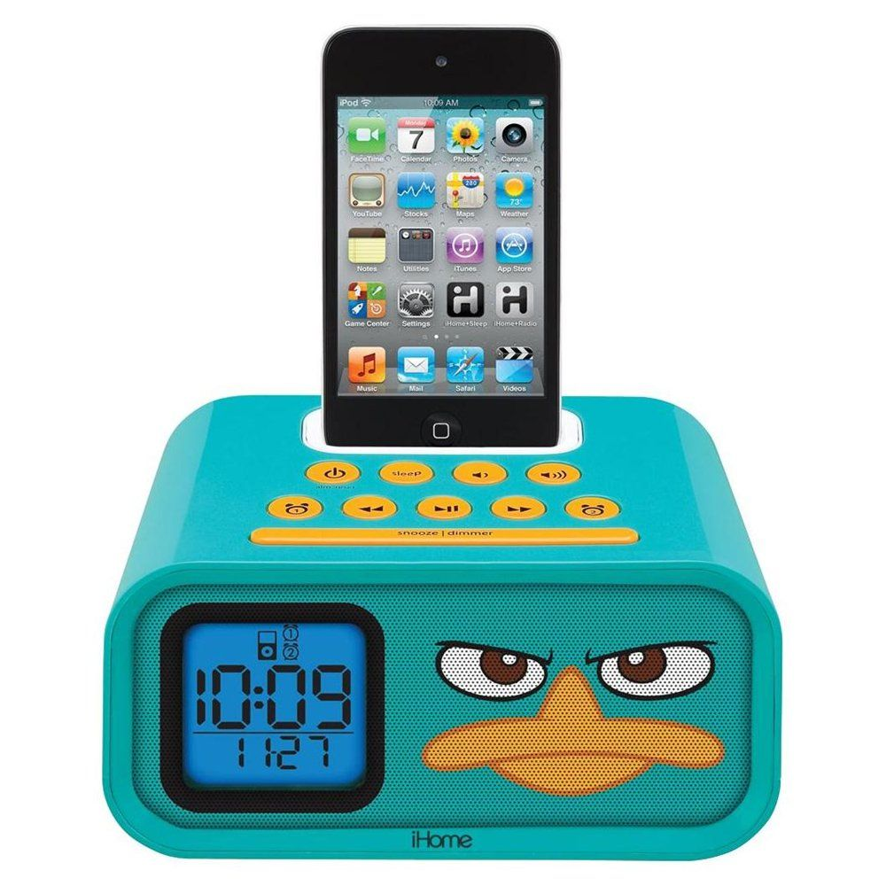 Phineas & Ferb iPod Alarm Clock