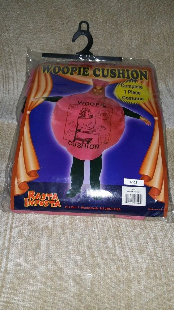 Whoopie Cushion Funny 70s 80s Funny Fancy Dress Stag Party Costume ...