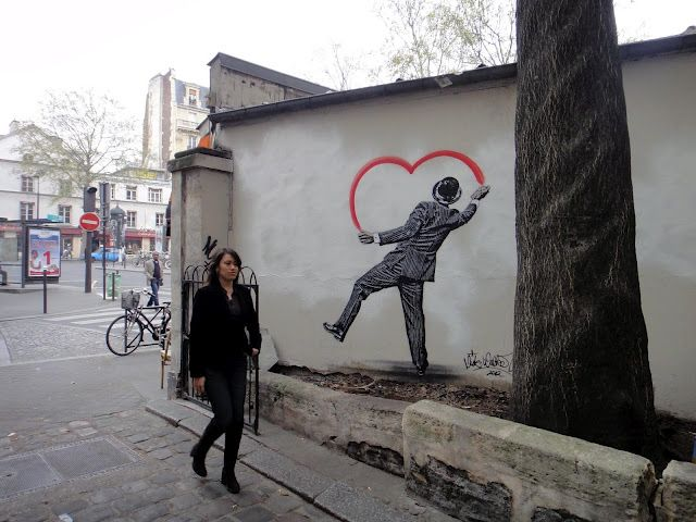 Nick Walker New Mural In Paris StreetArtNews