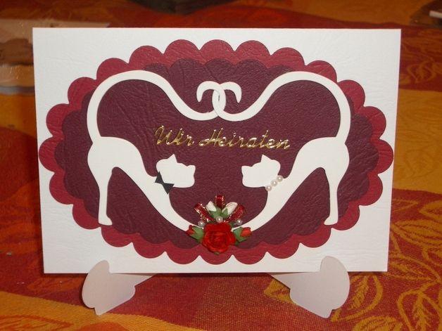 Einladung Hochzeit Lesbenhochzeit Schwulenhochzeit