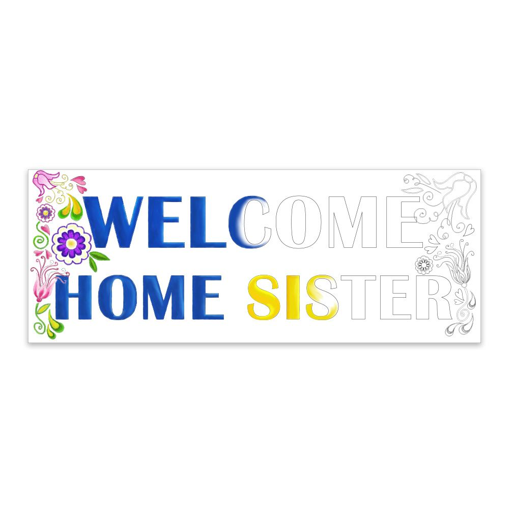 Coloring Missionary Banner - Sister (#LDP-CMSPST223) from Latter Day ...