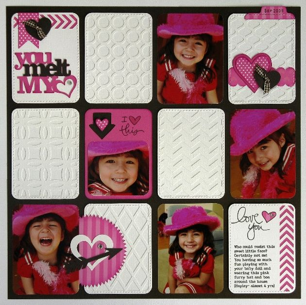 Layout by Mendi and Cards by Joy