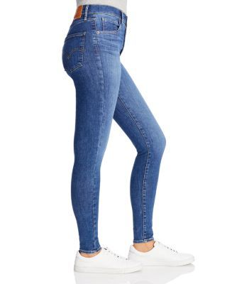 Levi's Mile High Skinny Jeans in Tempo Super Hot Women - Bloomingdale's