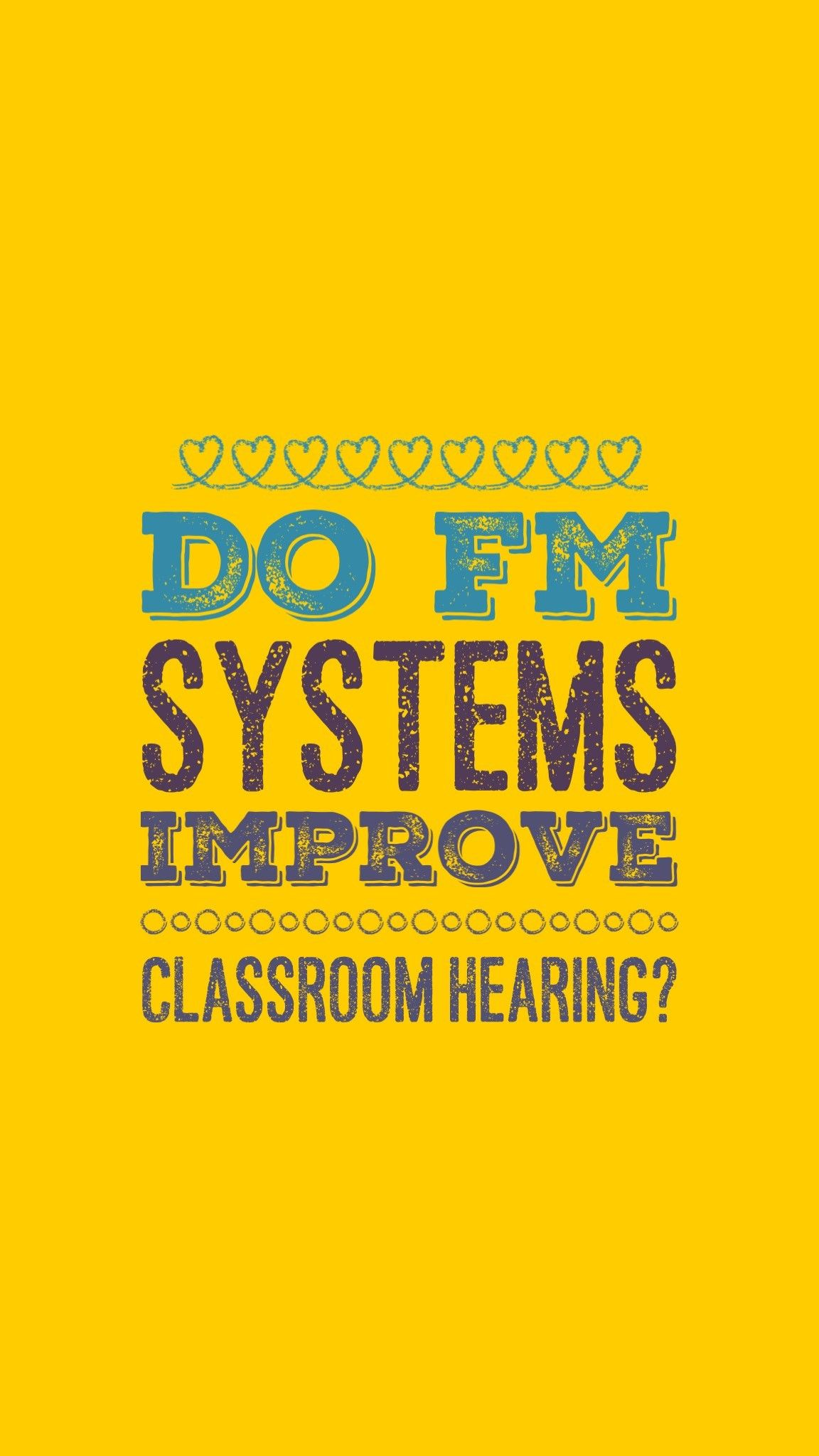 Fm Systems Are A Type Of Assistive Listening Device They