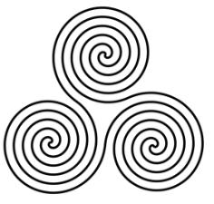 Nordische Symbole Und Ihre Bedeutung : triskele oder dreier spirale bedeutung heute und bei den kelten ~ Frokenaadalensverden.com Haus und Dekorationen