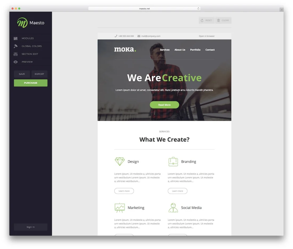 39 Free Responsive HTML Email Templates 2020 Colorlib in
