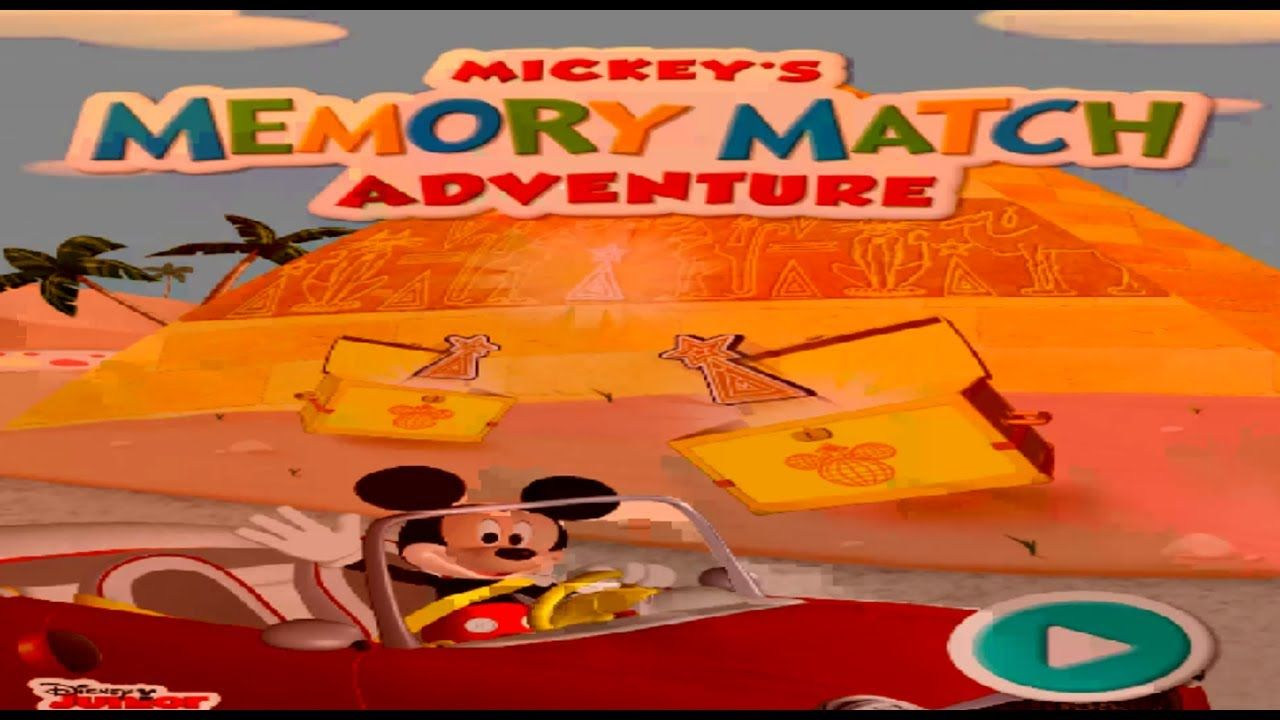 Mickeymouseclubhouse Mickeymouse Memory Match Adventure Game Aroundtheworld For Children In 2021 Disney Junior Games Disney Games Mickey Mouse Clubhouse