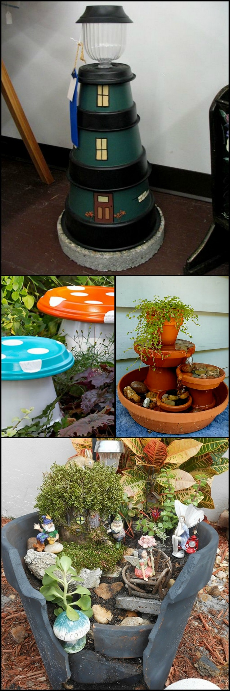 Brighten up your garden with these fun terracotta projects they 39 re a great project to make with for Terracotta gartendekoration