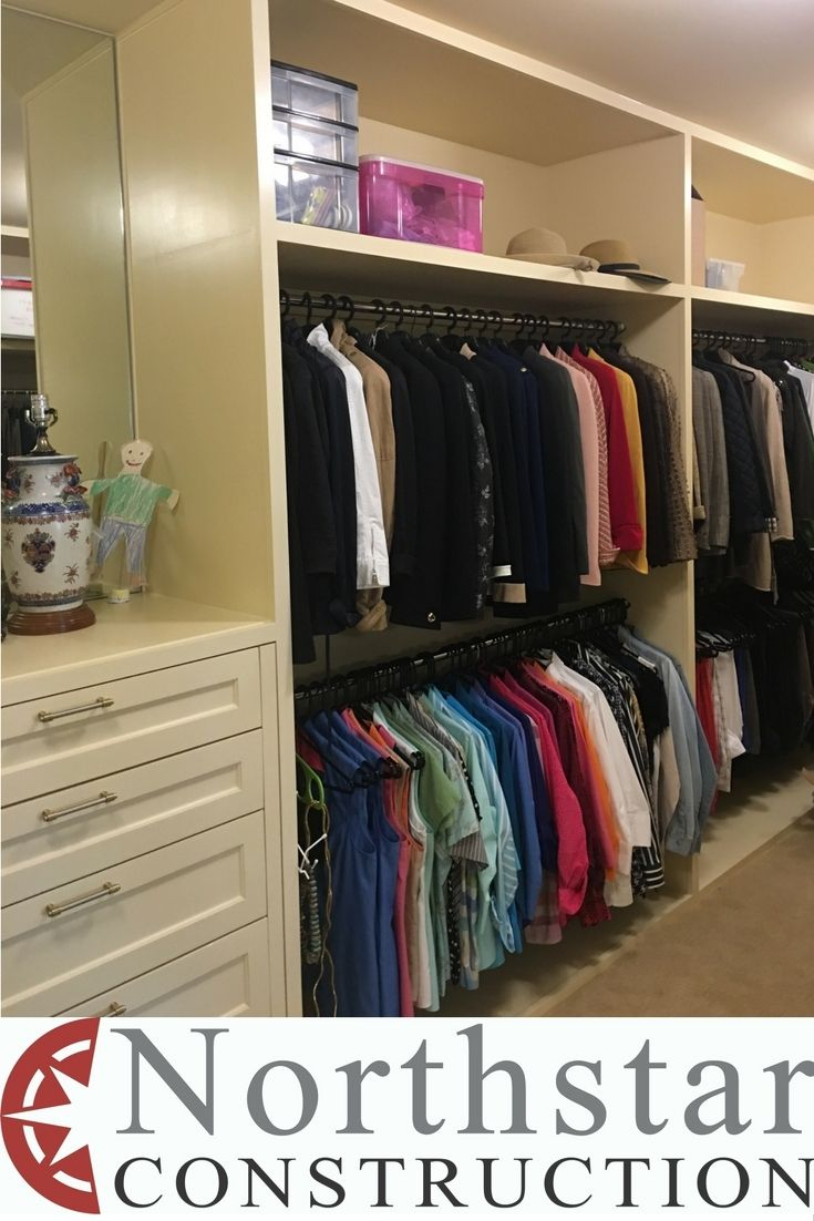 a278edded18 We built these clothes cabinets to replicate those you see in a high-end  clothing store. A dressing room should show off your clothes. This is part  of an ...