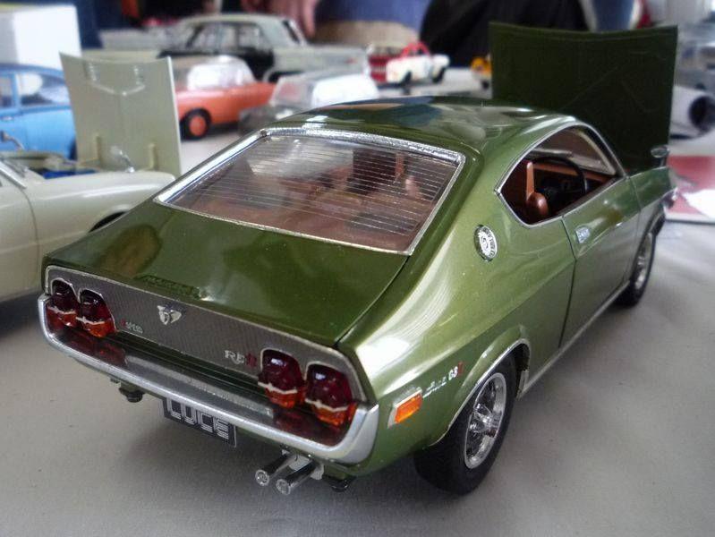 Bandai 1 20 Scale Mazda Luce Early Vintage Japanese Kits
