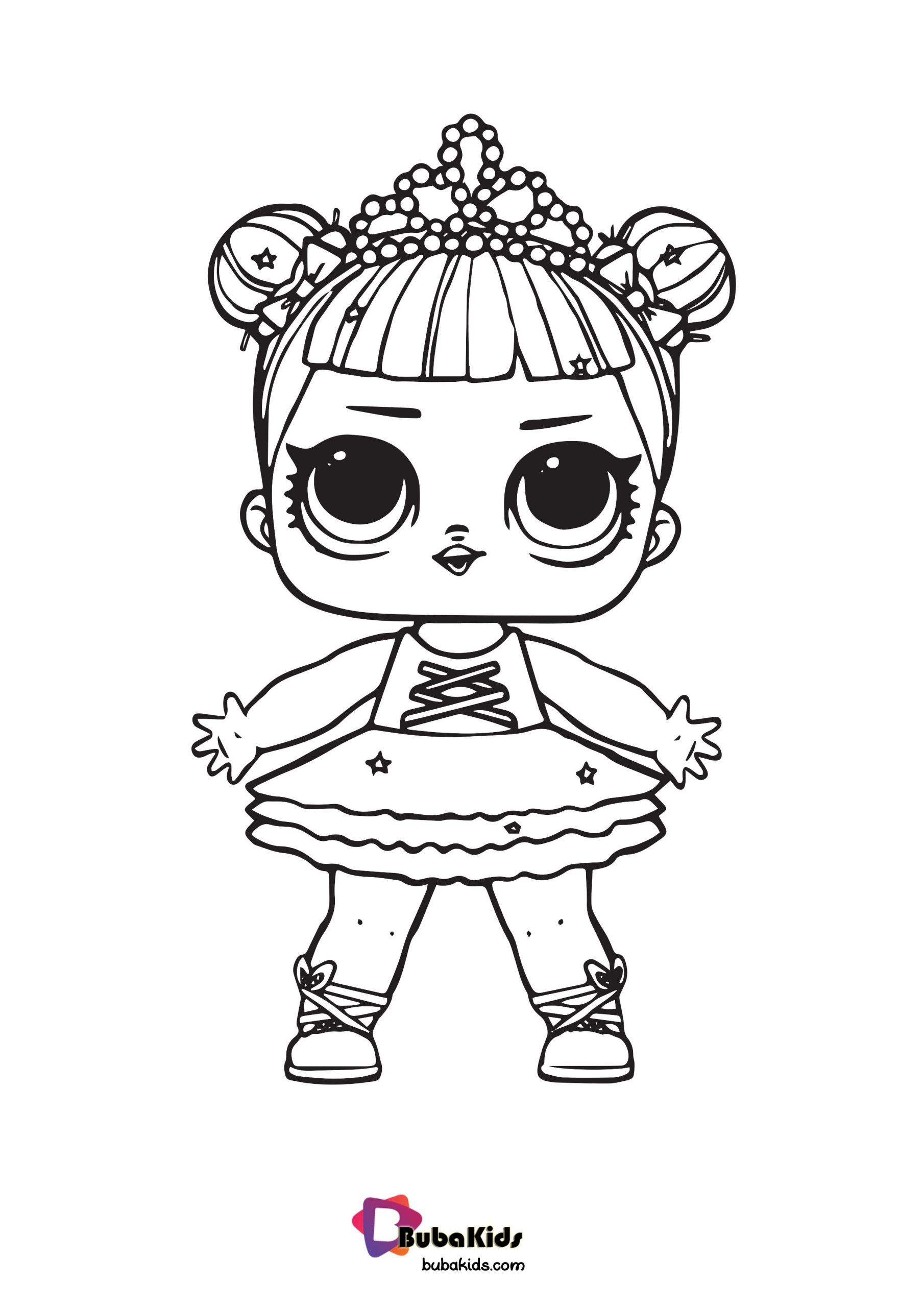 Lol Princess Doll Coloring Page Collection Of Cartoon Coloring Pages For Teenage Printable That You Can D Cartoon Coloring Pages Coloring Pages Princess Dolls