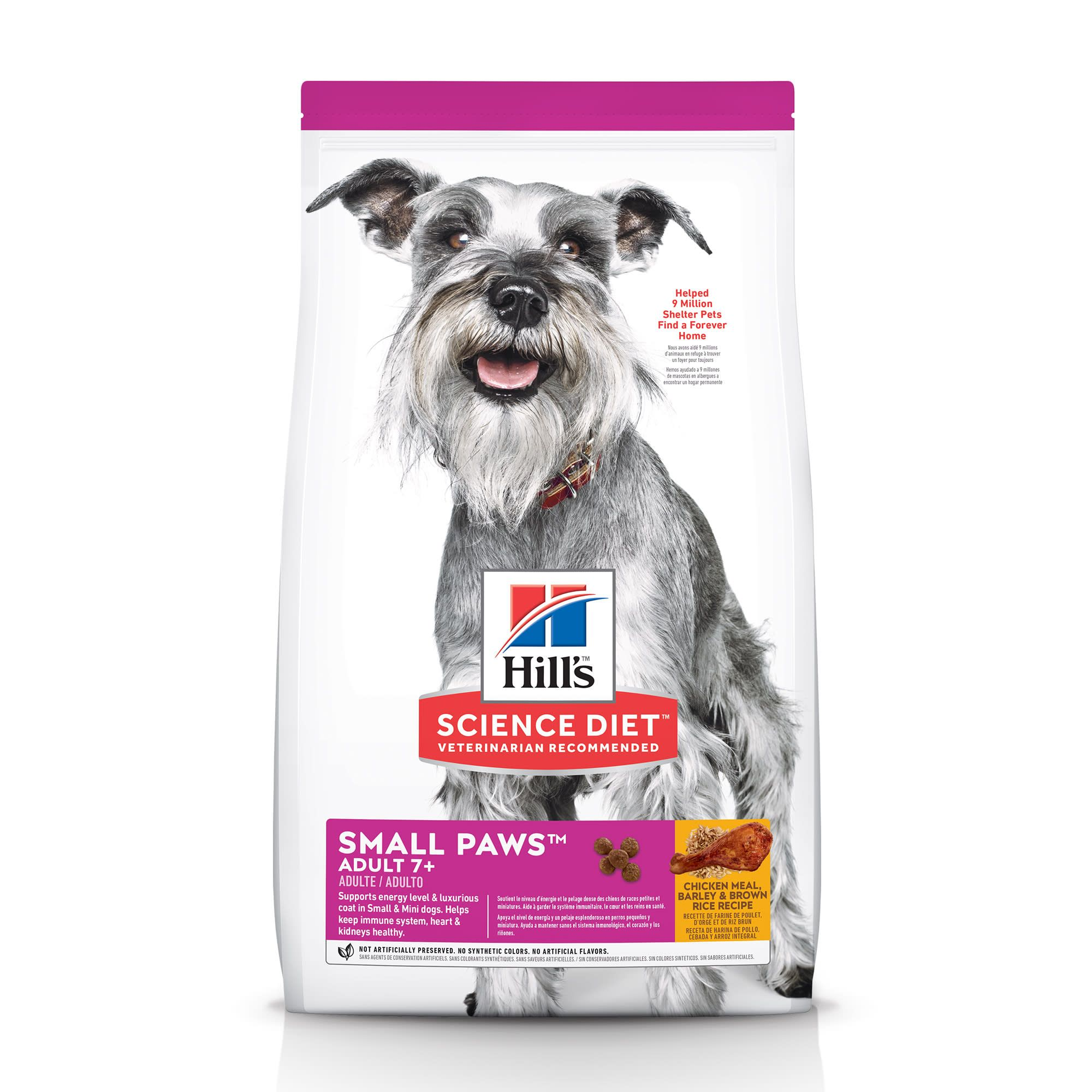 Hill S Science Diet Adult 7 Small Paws Chicken Meal Barley