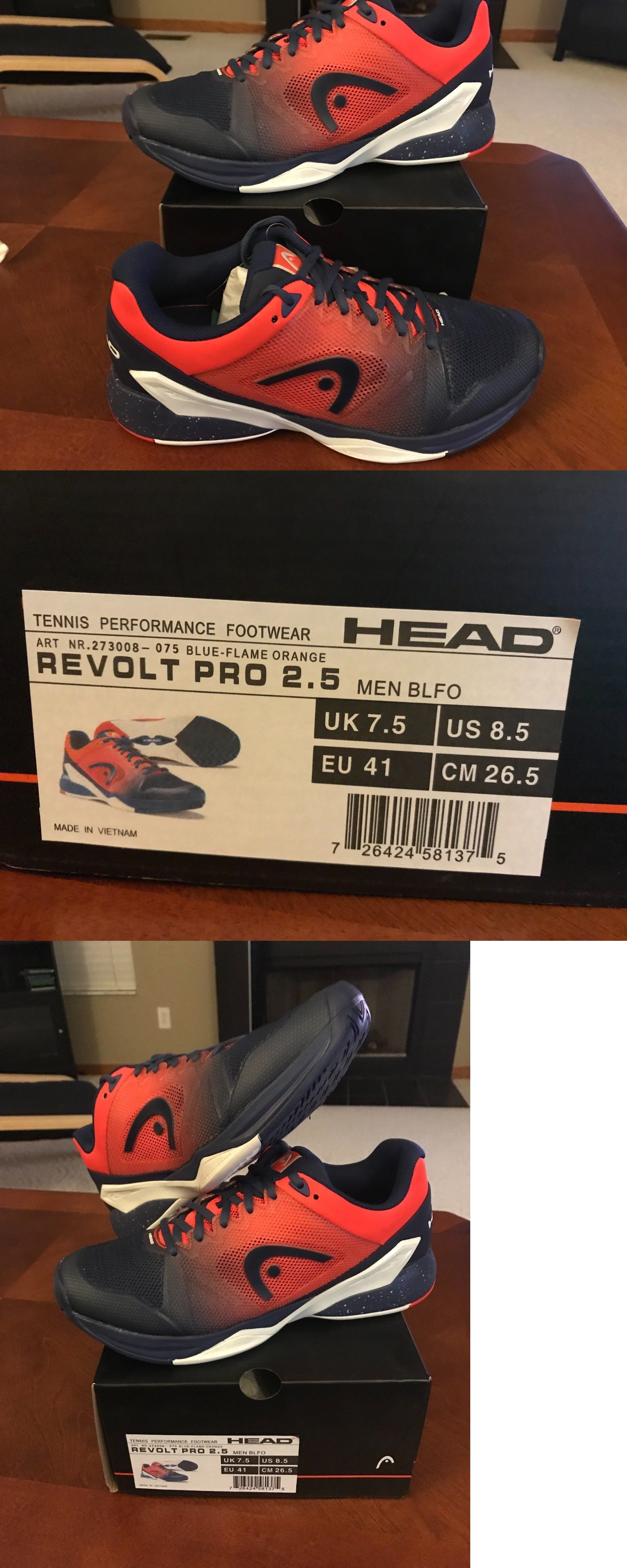 ac39e8996 Clothing Shoes and Accessories 62229  Head Revolt Pro 2.5 Men S Blue Flame  Orange Size 8.5 -  BUY IT NOW ONLY   50 on eBay!