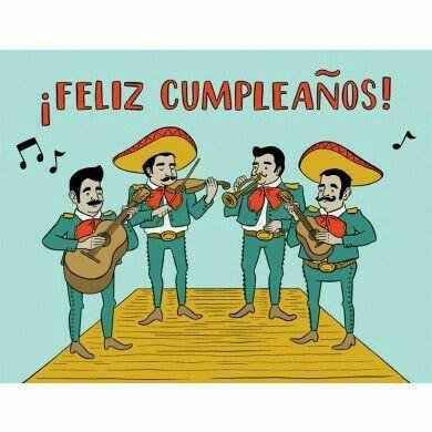 Feliz cumpleanos en mexicano