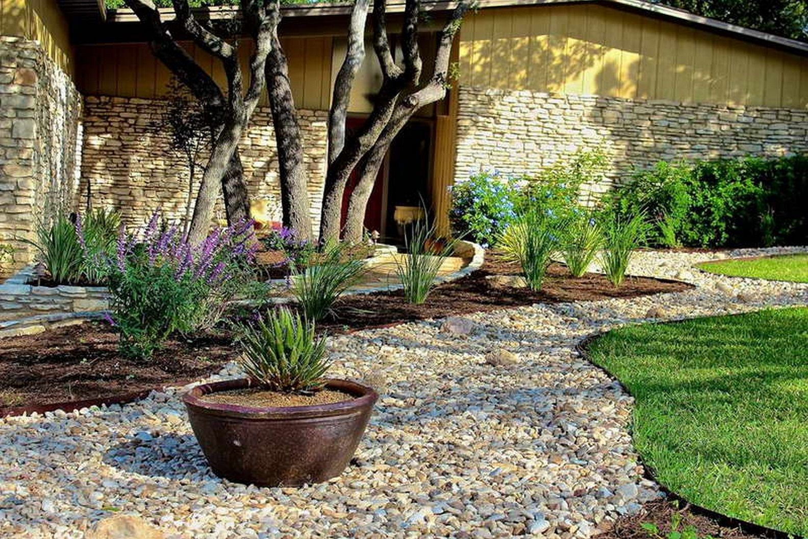 Small Rock Garden Design Ideas Future Home Yard Landscaping