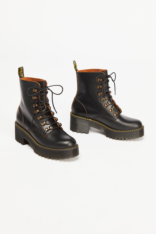 dr martens platform ankle boots