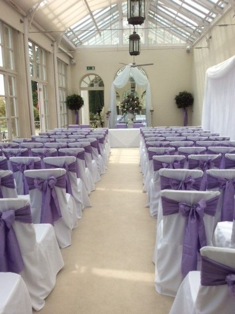 Chair Cover Hire Sussex For Hemorrhoids Buxted Park Hotel Orangery Wedding Venue Bespoke Linen Covers And Lilac