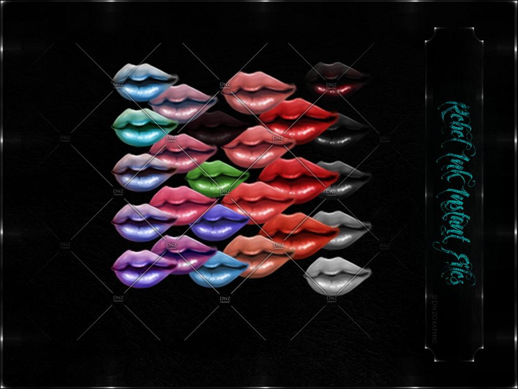 Instant Files Lips Bundle ©DnZGraphic