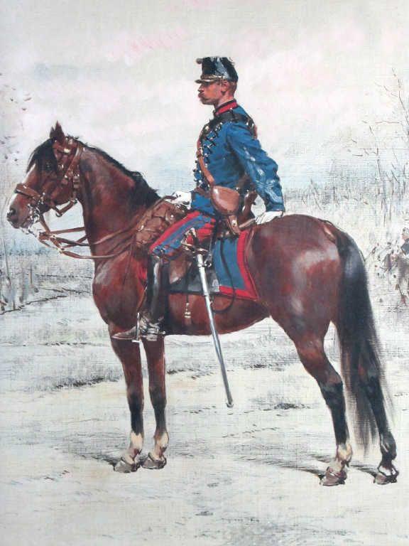 Chasseurs à cheval sous la IIIè République