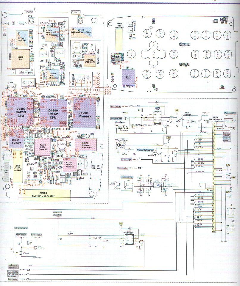 Mobile Circuit Block Diagram Wiring Diagram
