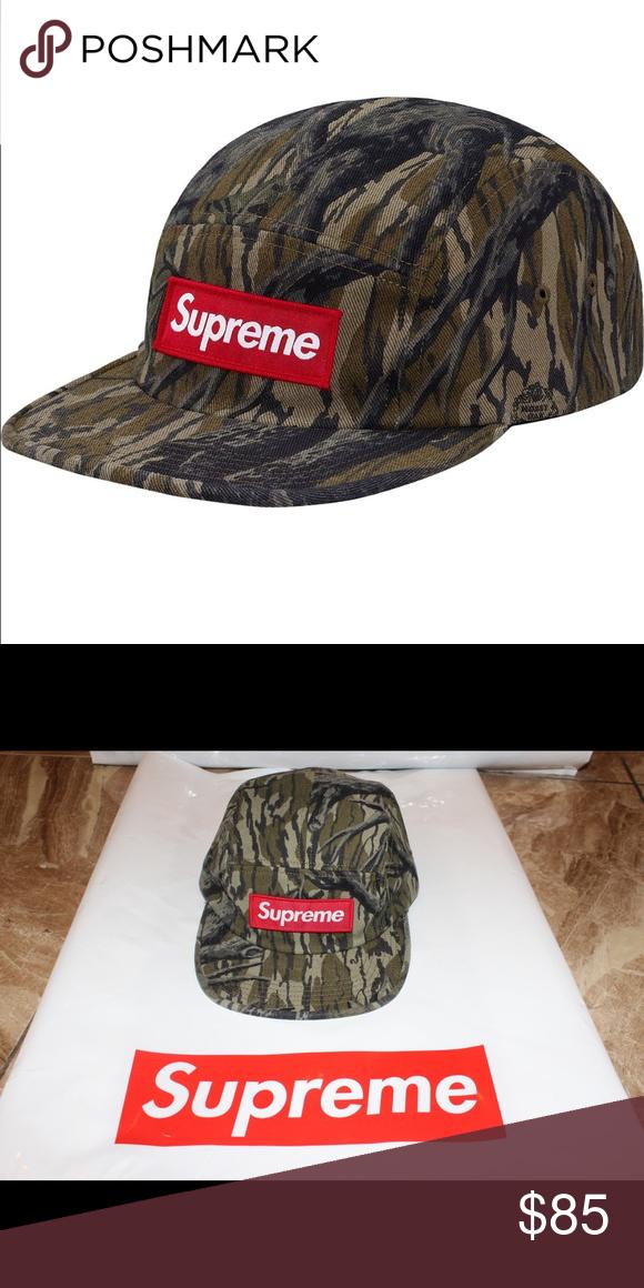 91e09929 Supreme Military Camp Cap (Mossy Oak Camo) Brand New Military Camp Cap with Tag  Supreme Accessories Hats
