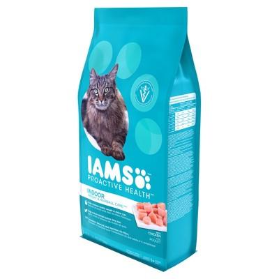 Iams Proactive Health Indoor Weight Hairball Care Dry Wet Cat