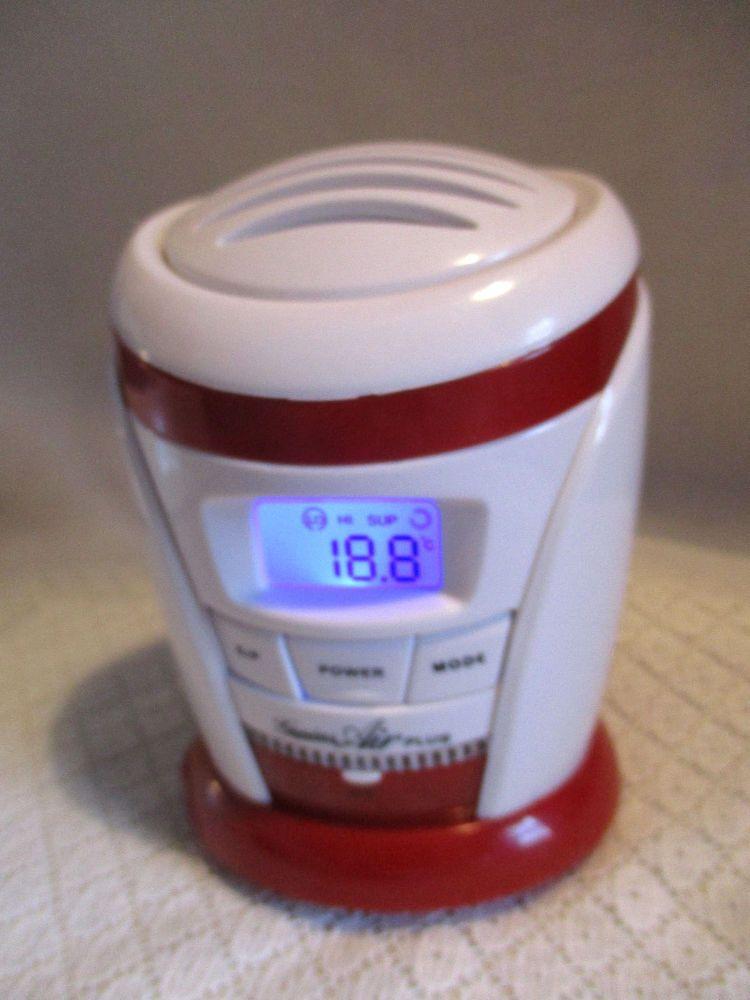 Genius Air Plus Refrigerator Ionic Freshner Deodorizer Gh2187