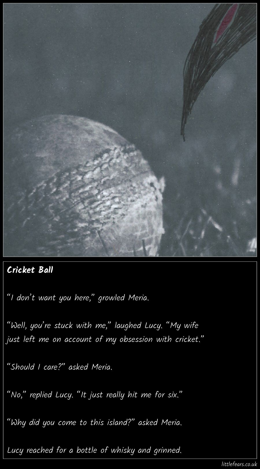Cricket Ball | Little Fears | You dont want me, Cricket