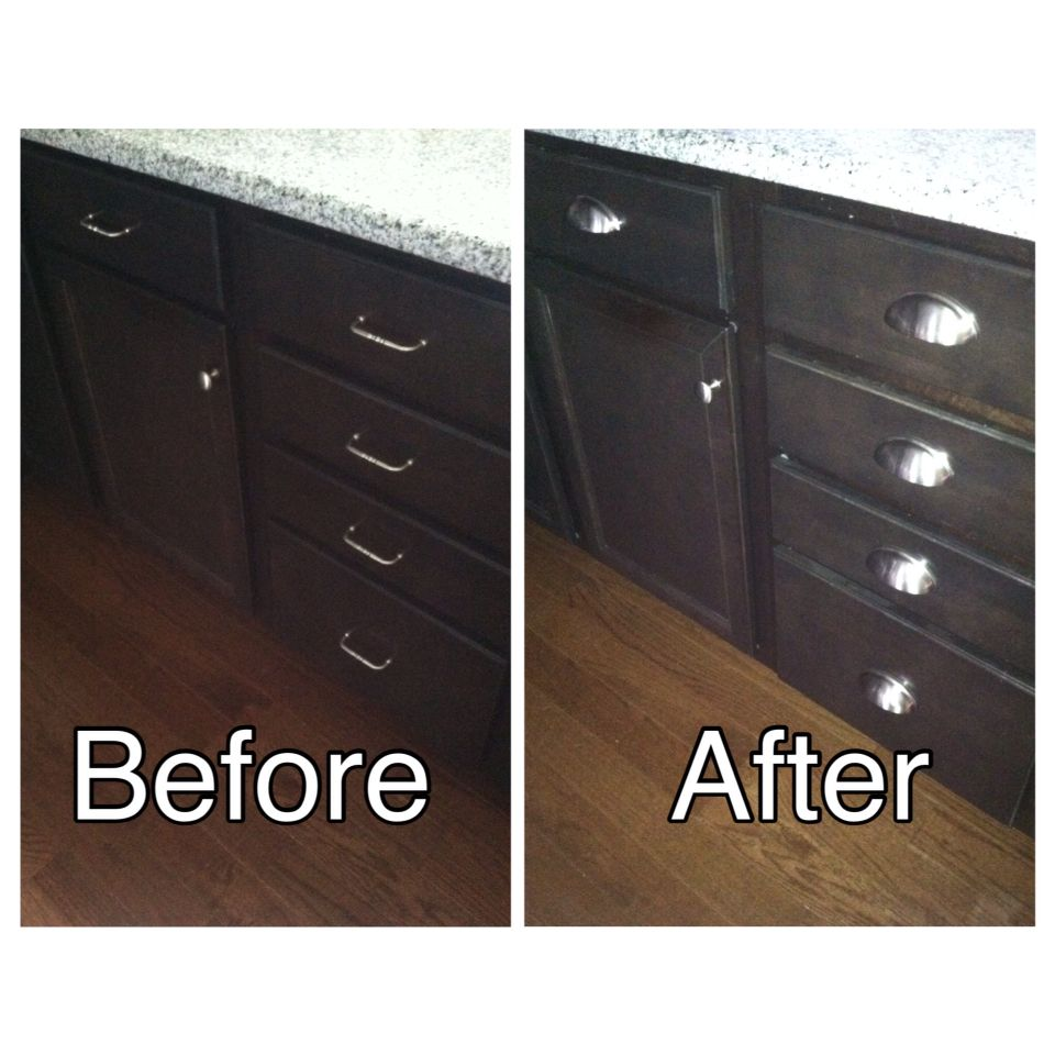 Quick And Easy Change But Iu0027m Loving My New Drawer Pulls! Bought On