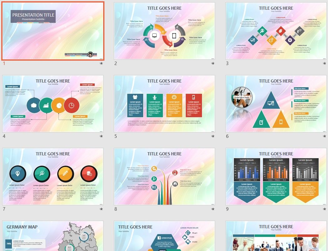 Colorful abstract ppt by sagefox themed powerpoint by sagefox free colorful abstract ppt by sagefox choose from thousands of quality templates with no fees or registration required new powerpoint templates added toneelgroepblik Choice Image