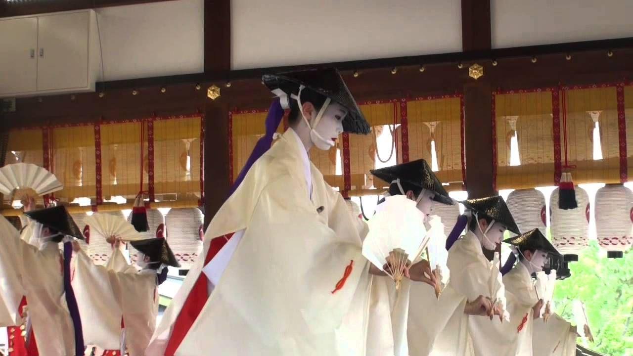 祇園祭 2015 花傘巡行 2 先斗町  「歌舞伎踊」  舞妓さん 奉納舞踊 2015年7月24日