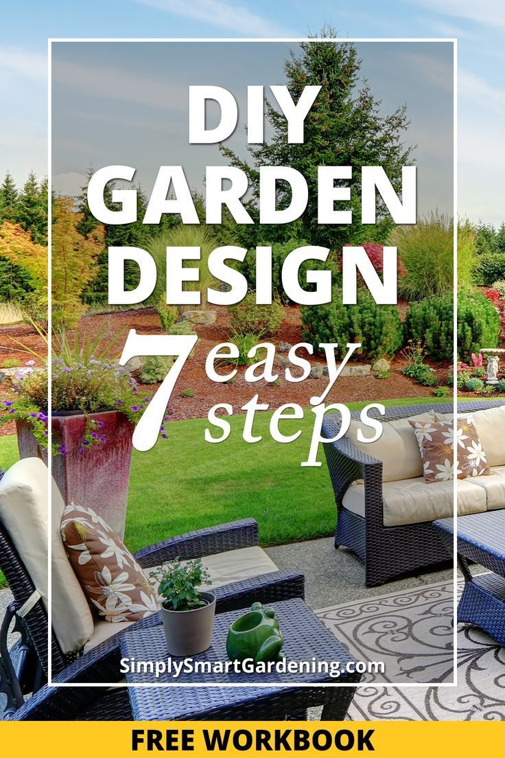 Learn How To Plan A Garden Layout For Your Front Yard Or Backyard With These Seven Easy Steps You Ll Lear Garden Planning Layout Garden Planning Garden Layout